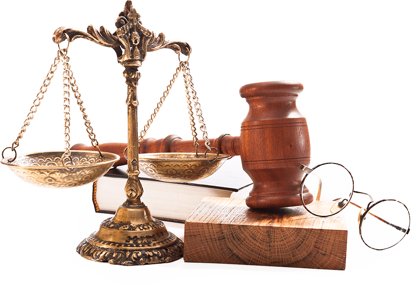 legal scale gavel